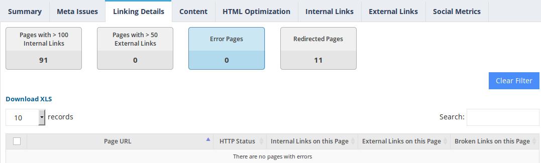website-audit-error-pages