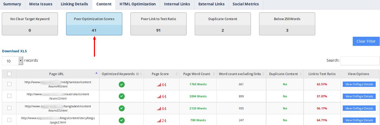 website-audit-content-optimization-score