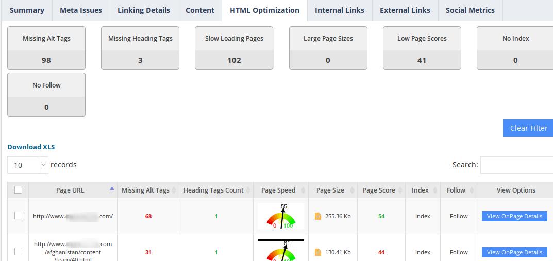website-audit-html-optimization