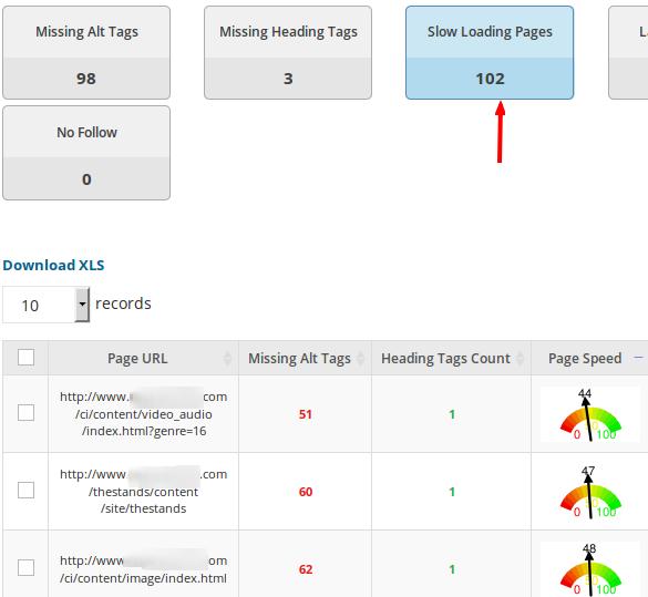 website-audit-slow-loading-pages