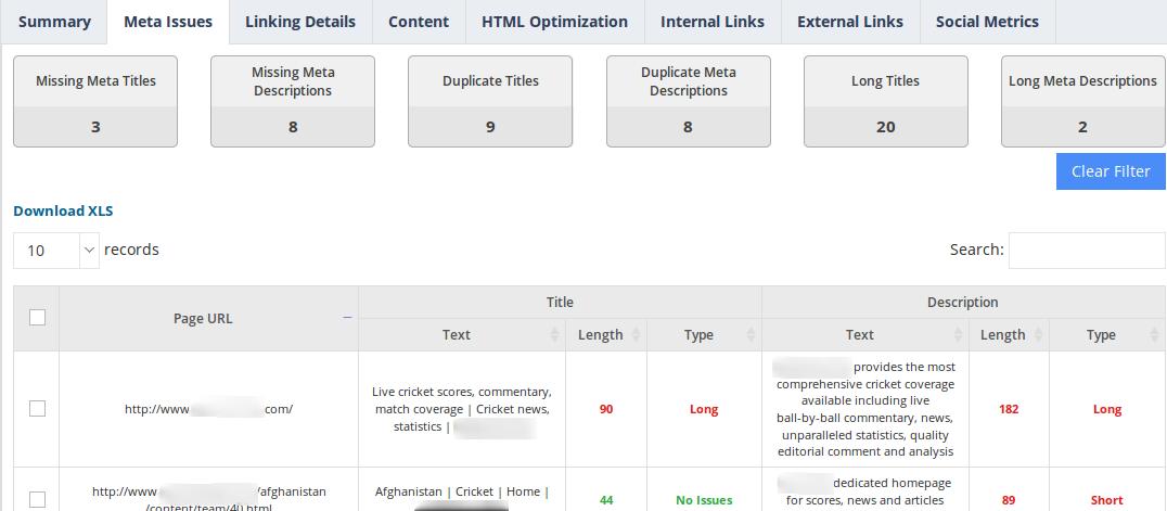 website-audit-meta-issues