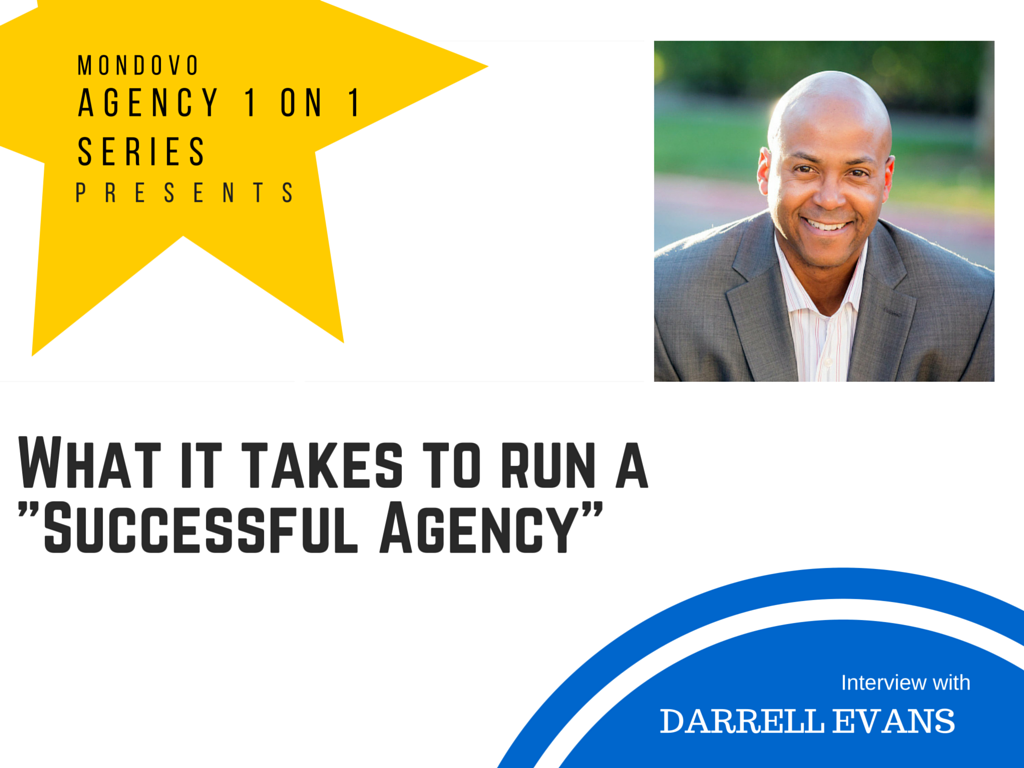 Darrell Evans and Mondovo Interview - Agency 1 on 1