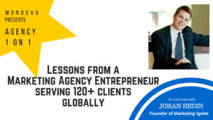 lessons from a marketing agency entrepreneur