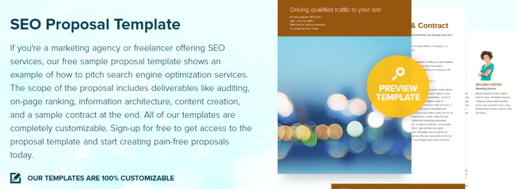 #5 U2013 Proposify SEO Proposal Template