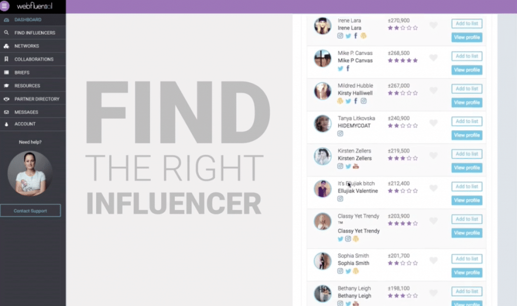 Influencer Marketing Campaign Webfluential