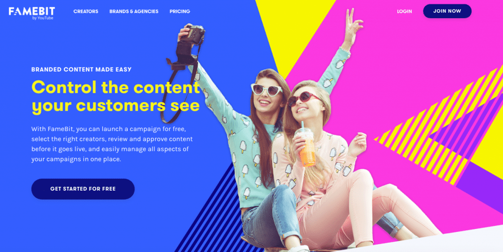 Influencer Marketing Campaign Famebit