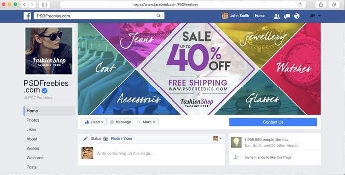 Facebook Cover Photos for Business - Announce Sales