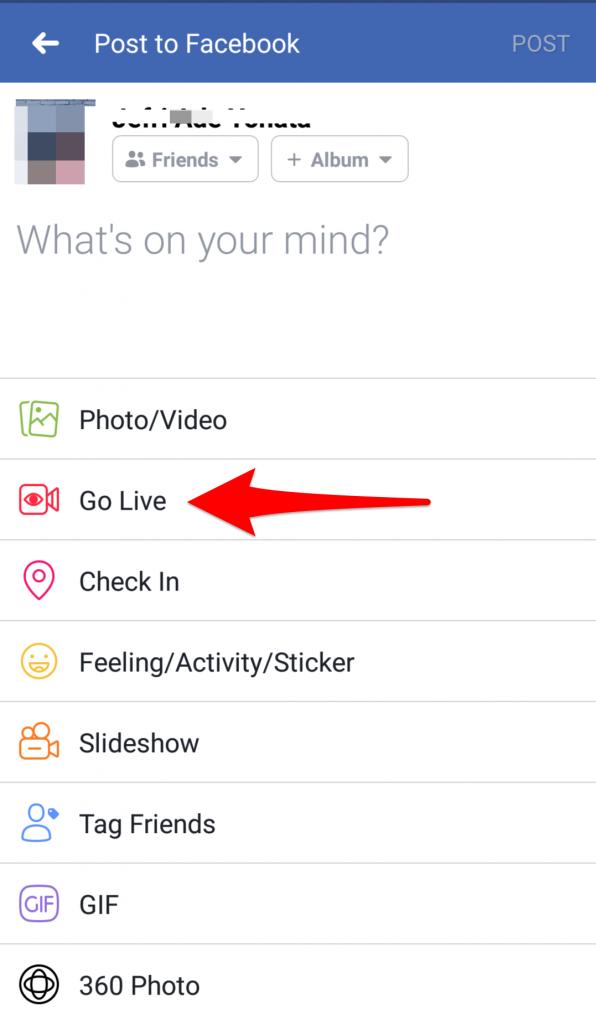 Social Media Live Videos