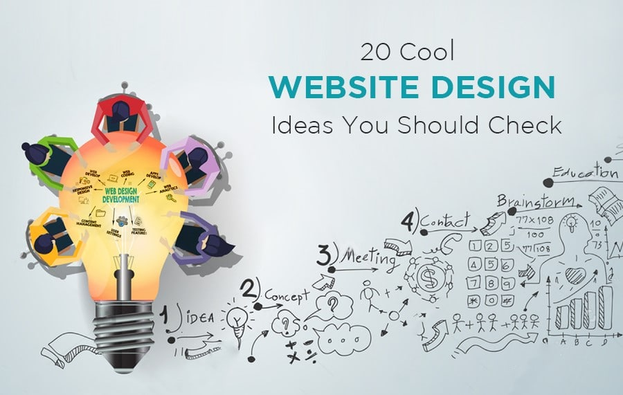 20 Cool Website Design Ideas You Should Check For 2018