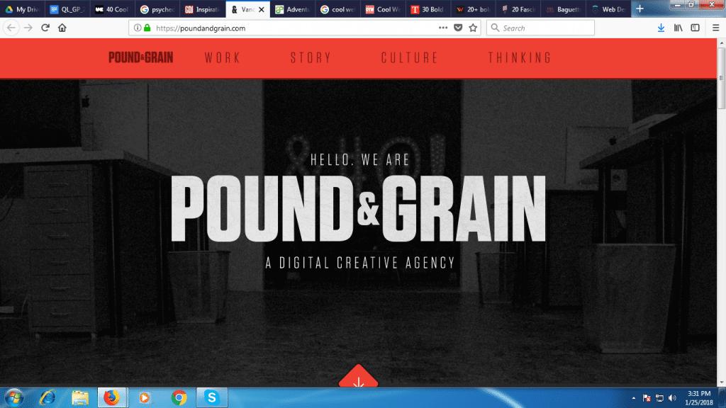 Pound and Grain