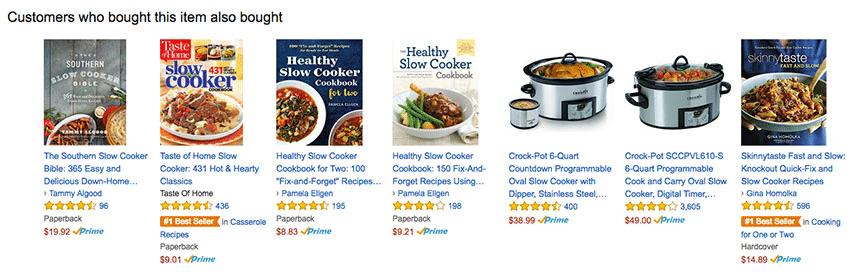 Amazon Product Suggestions