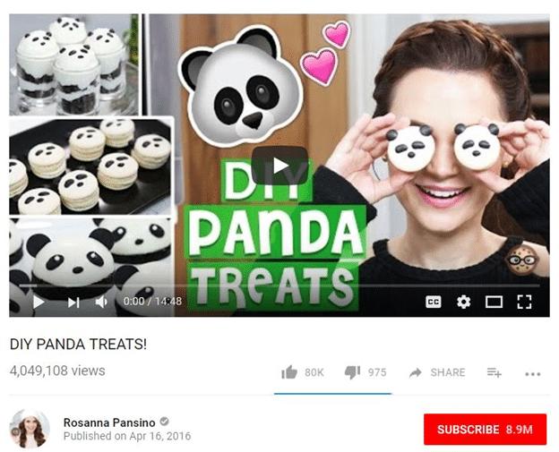 Diy Panda Treats